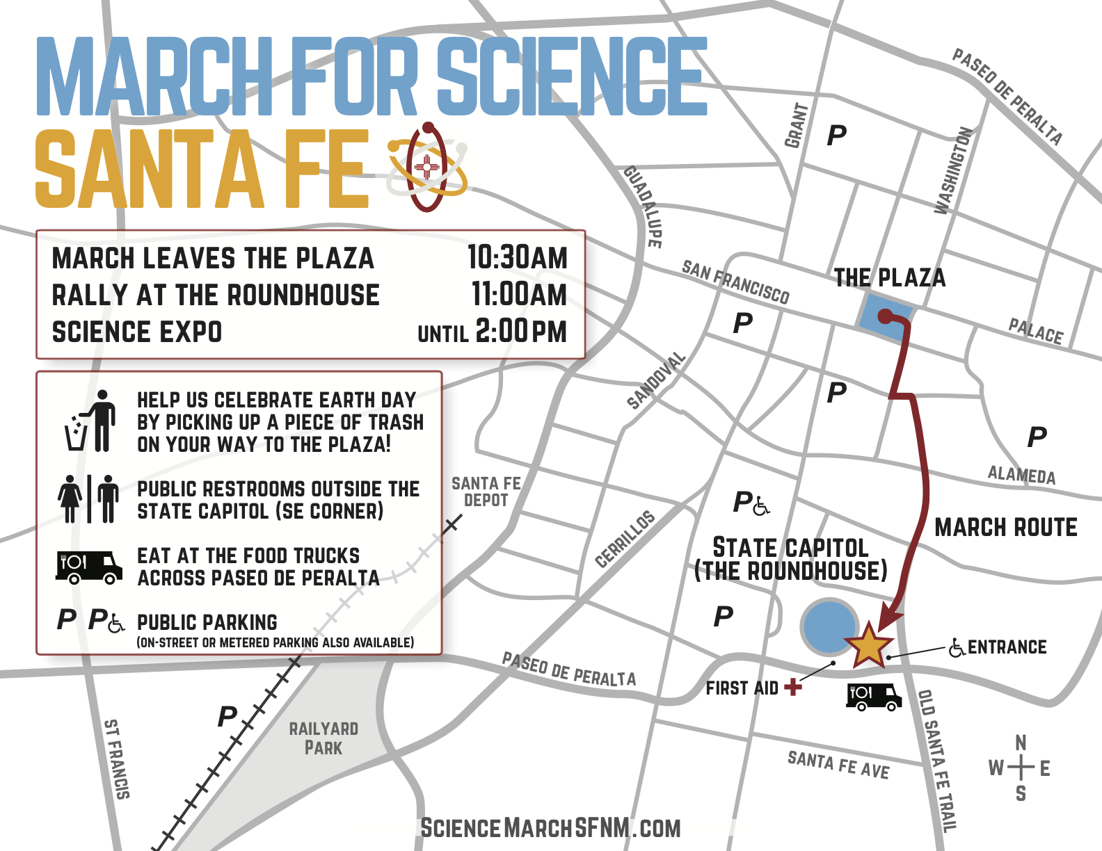 The Event – March for Science Santa Fe on loretto chapel map, 1964 santa fe rail map, santa fe parking map, ski santa fe map, santa fe downtown map, new mexico map, santa fe neighborhood map, santa fe visitors map, santa fe street map, la fonda santa fe map, santa fe opera map, las trampas map, santa fe airport map, city of santa fe map, santa fe tourist map, los cabos riu santa fe map, old santa fe map, sandia peak tramway map, santa fe route map, santa fe nm map,
